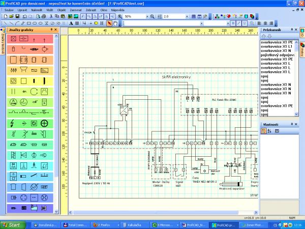 Proficad Jednoduchy Elektrocad Software Vyvoj Hw Cz