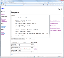 Program window iDo